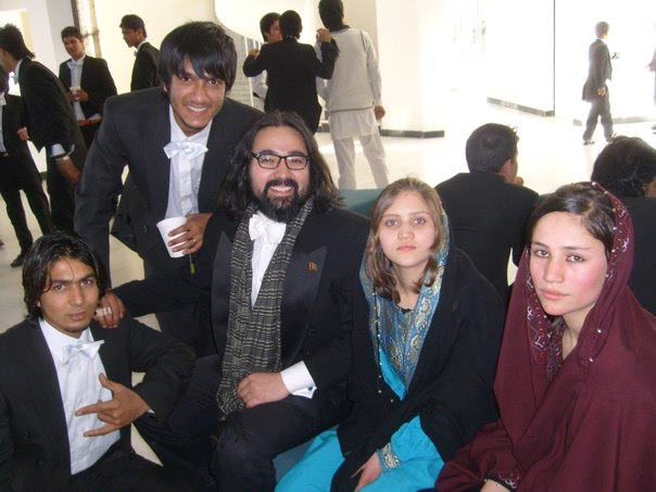 My Cello friends in Kabul