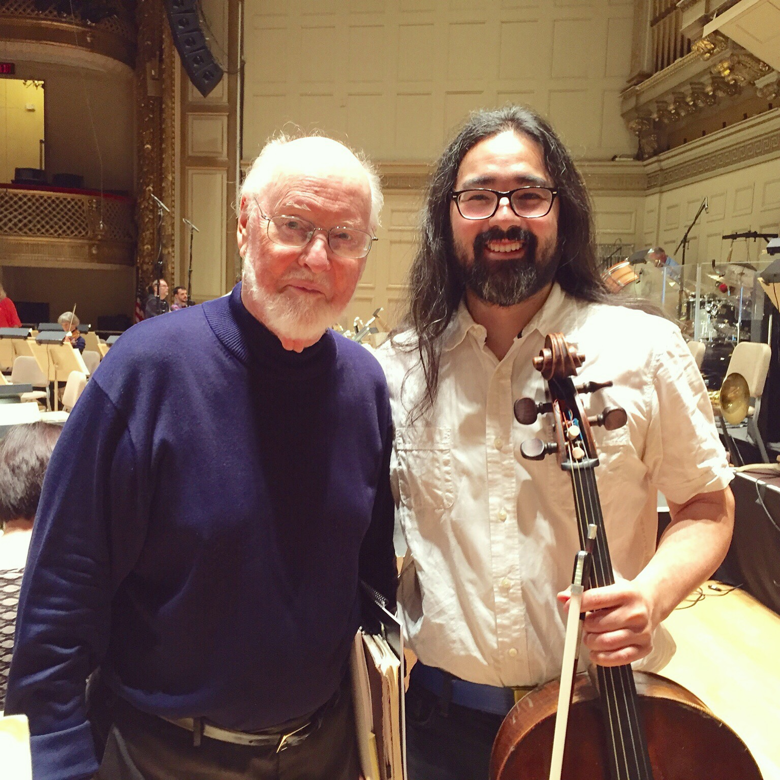 Leo Eguchi and John Williams