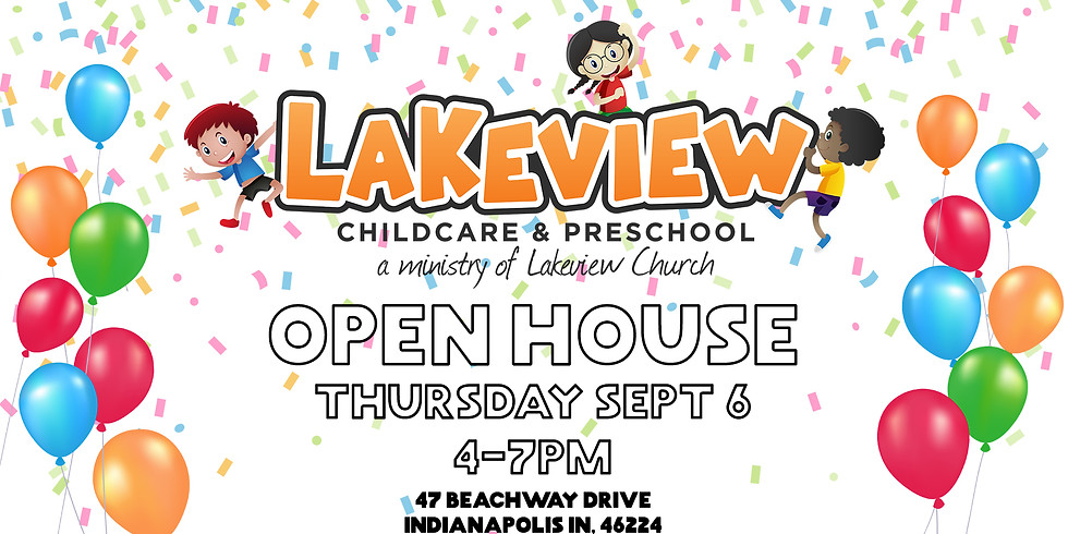 Lakeview Childcare & Preschool Open House