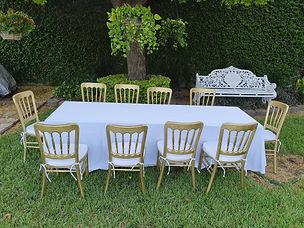 Renta mesas y sillas en monterrey