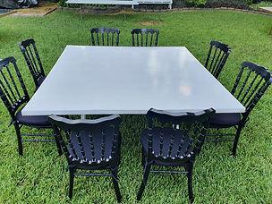 Renta sillas y mesas en monterrey