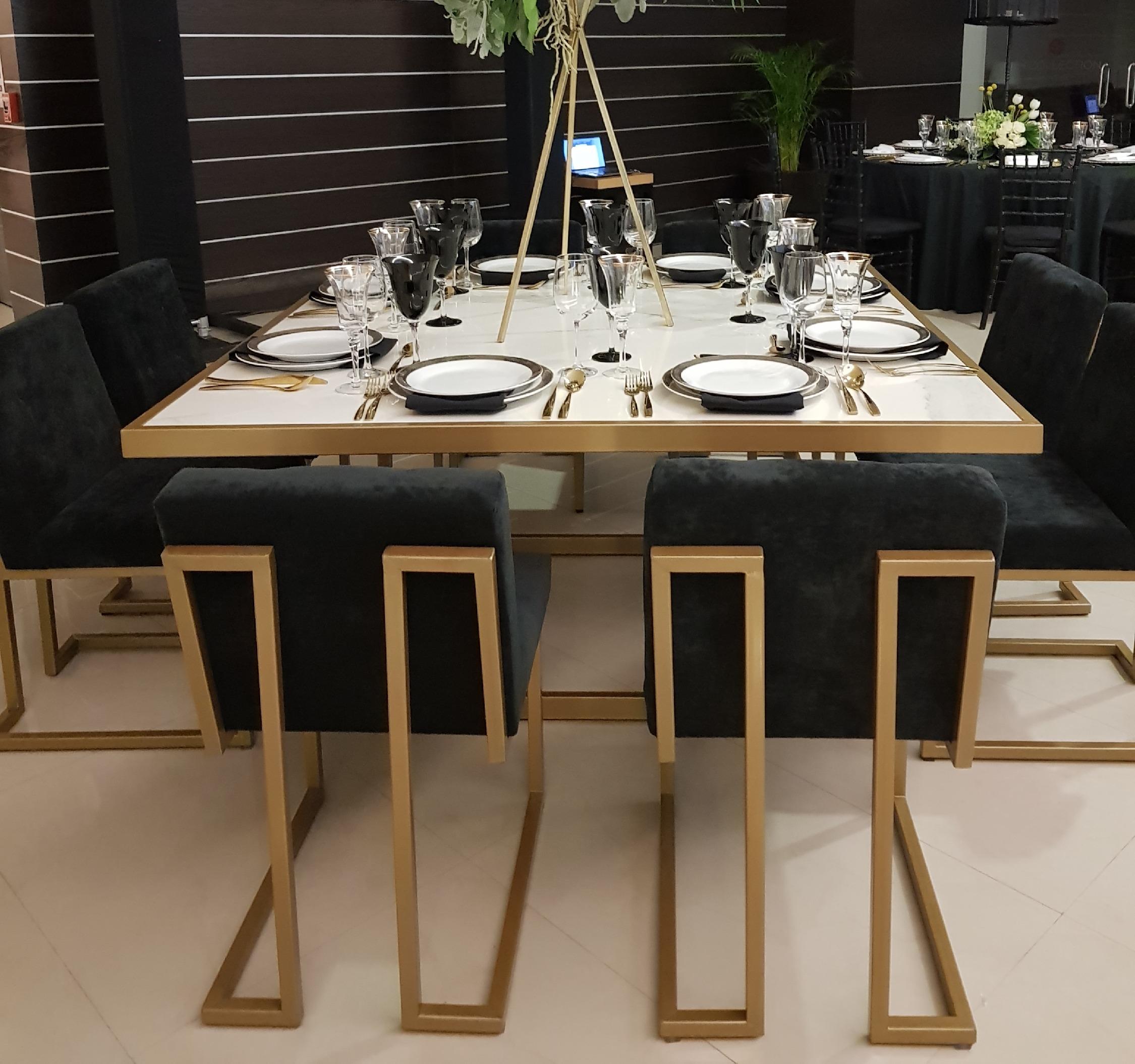 Renta mesas de marmol para bodas