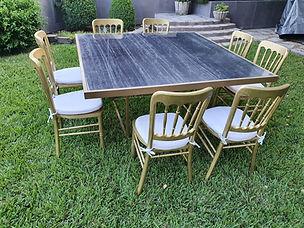 Renta mesas de marmol en monterrey