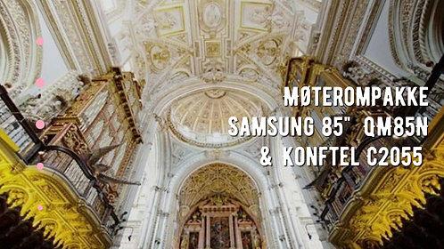 "Møterompakke Samsung 85""  QM85N & Konftel C2055"