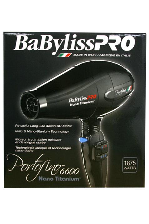 BABYLISS Nano Titanium Portofino Hair Dryer 1875W