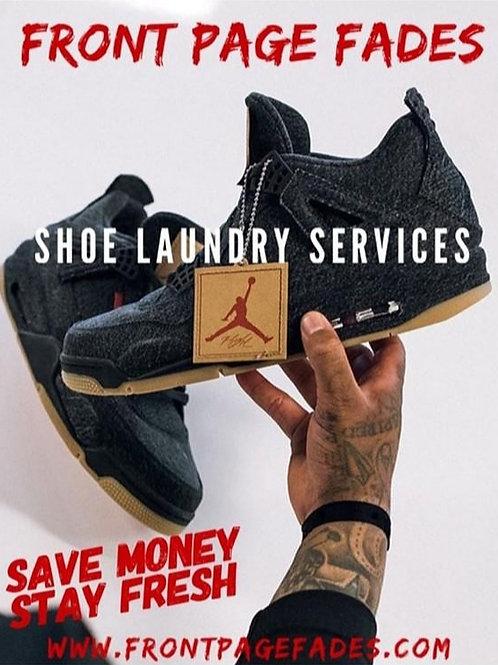 basic shoe cleaning