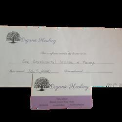 Stacey Lafortune, Organic Healing