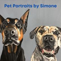 Pet Portraits by Simone
