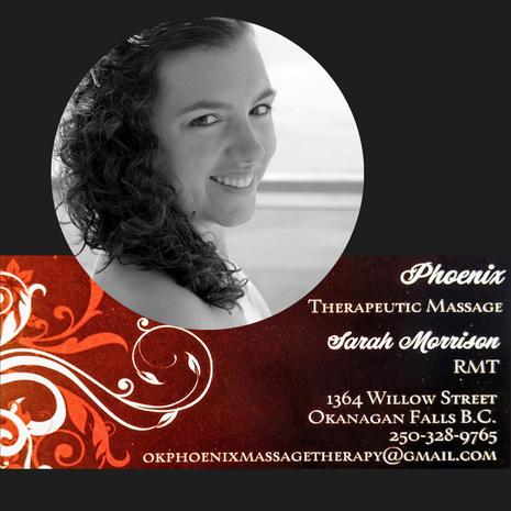 Phoenix Therapeutic Massage, Sarah Morrison