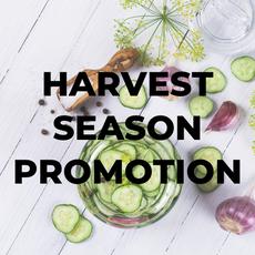 Harvest Season Promotion