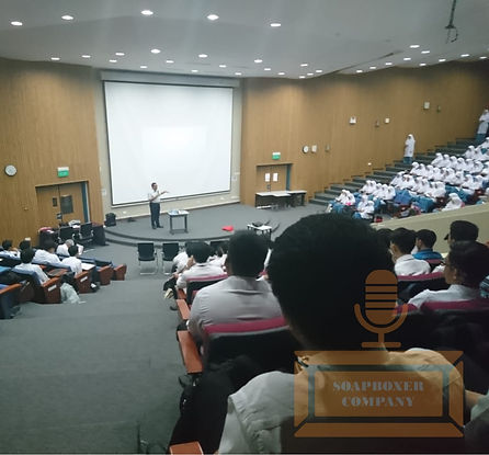 Coach Edwin Lim at PTES Soapboxer Company Brunei