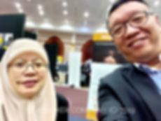 Coach Ed Lim at UBD Career Fair 2019