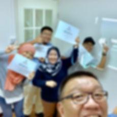 Coach Ed Lim training GTD