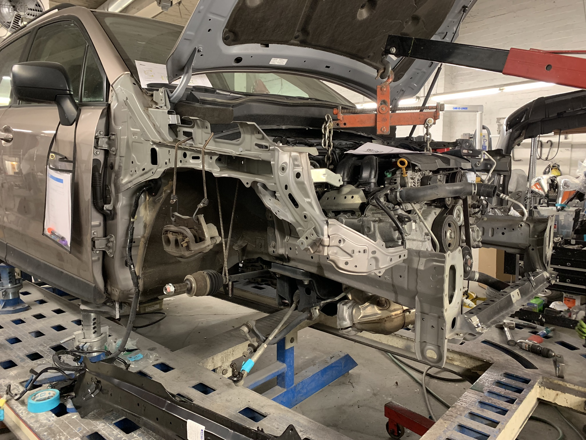 Front Frame Rail Replacement