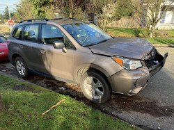2015 Subaru Forester Before