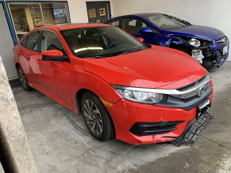 2016 Honda Civic Before