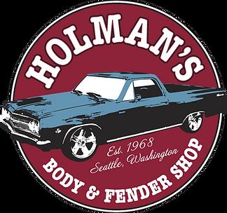 Holman's Back Logo Large png file - curv