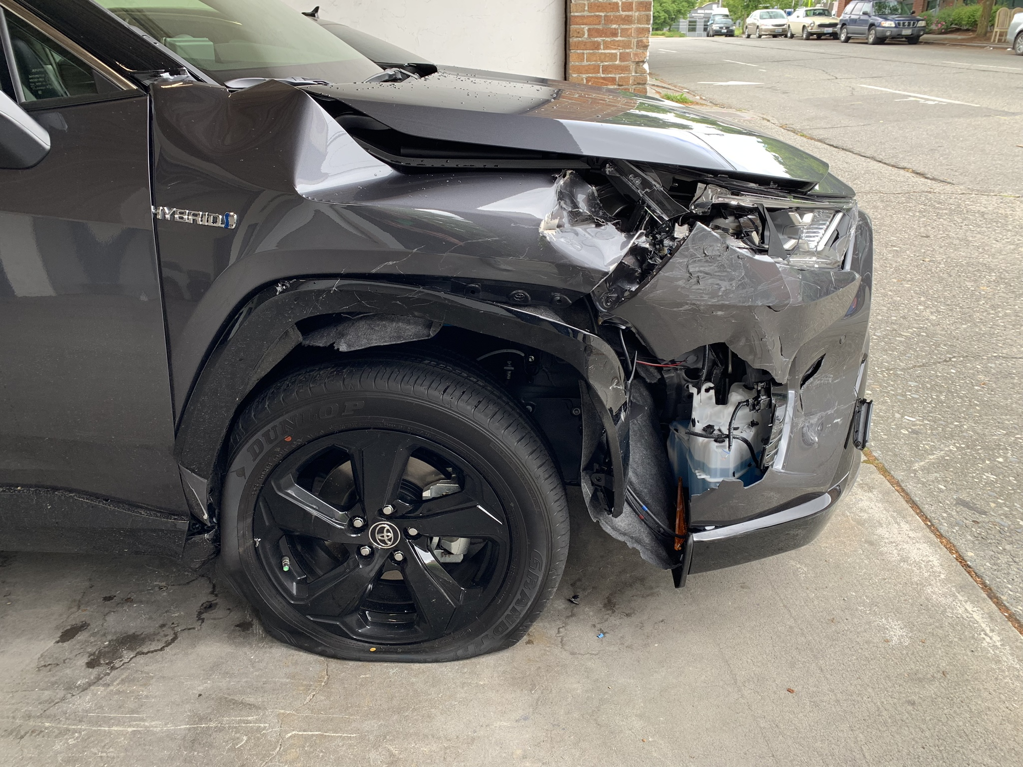 2019 Totoya Rav4 Before