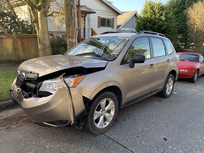 2015 Subaru Forester Before