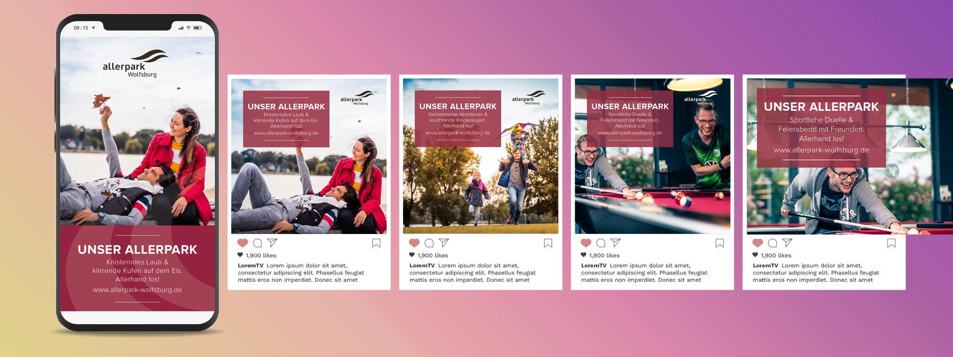 Social Media Ads-Allerpark Wolfsburg-CMd