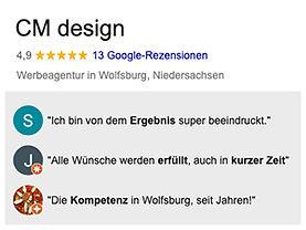 Werbeagentur Wolfsburg-Rezensionen