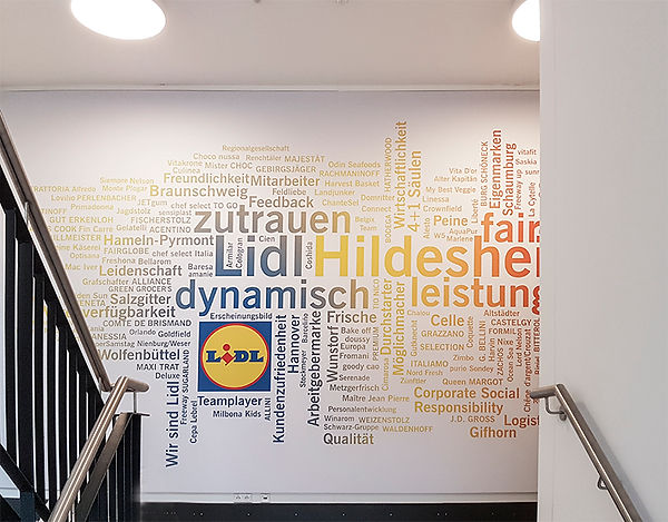 Wandtattoo-Wandfolierung-Lidl-CMdesign-W