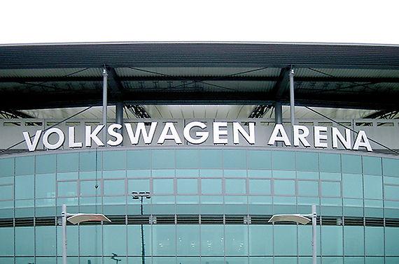 3D Buchstaben-Volkswagen Arena-CMdesign