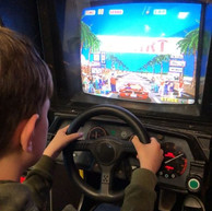 Getting the driving practice in on Outru