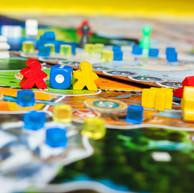 Board game concept- many board game fiel