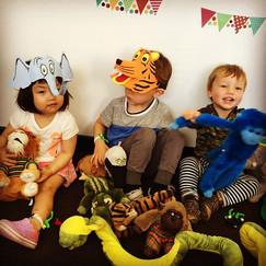 Heaps of fun this morning in Toddler Mus