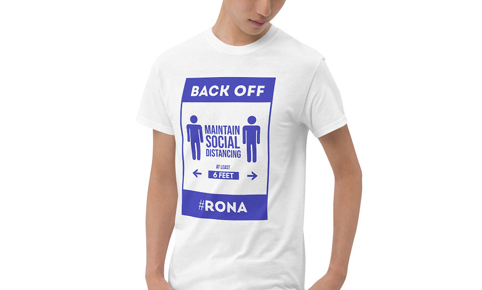 Short Sleeve T-Shirt Social Distancing