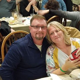 Pastor Chet Flowers and wife Kristin
