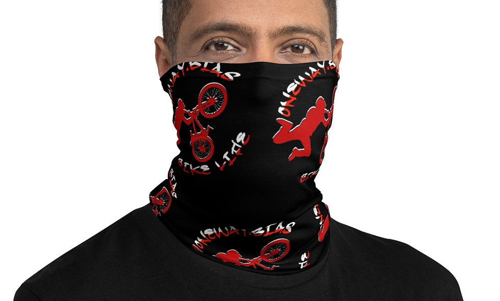 Bike Life Neck Gaiter - Carter Bias Edition