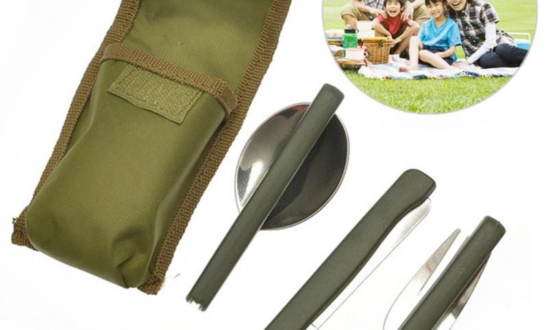 Portable Mini Tableware Set