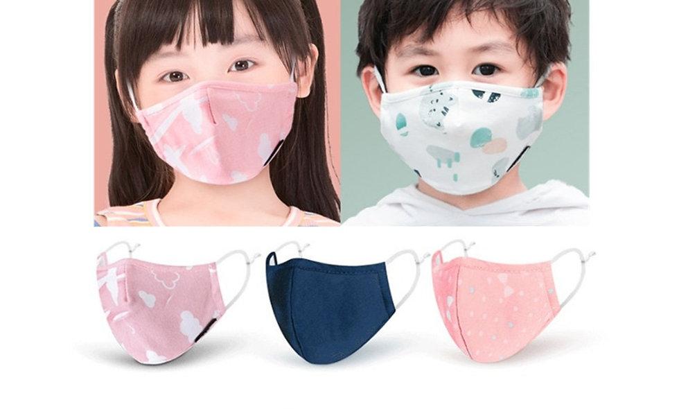 PM2.5 Boy Girl Cotton Kid Mask Reusable Children's