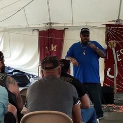 Rob at ABC tent revival