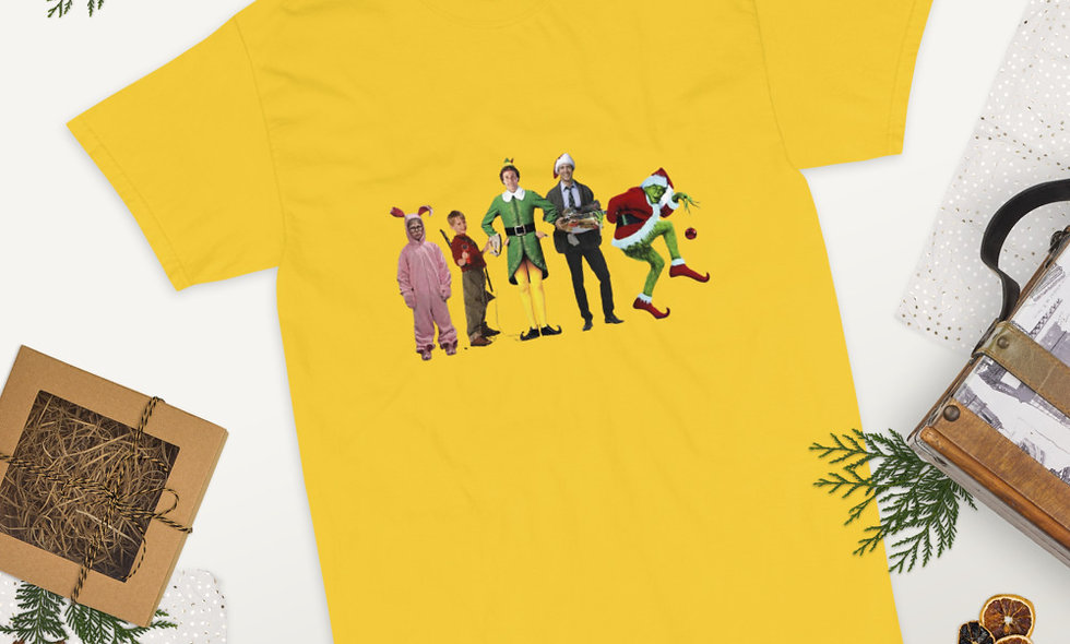 Christmas Friends Short Sleeve T-Shirt