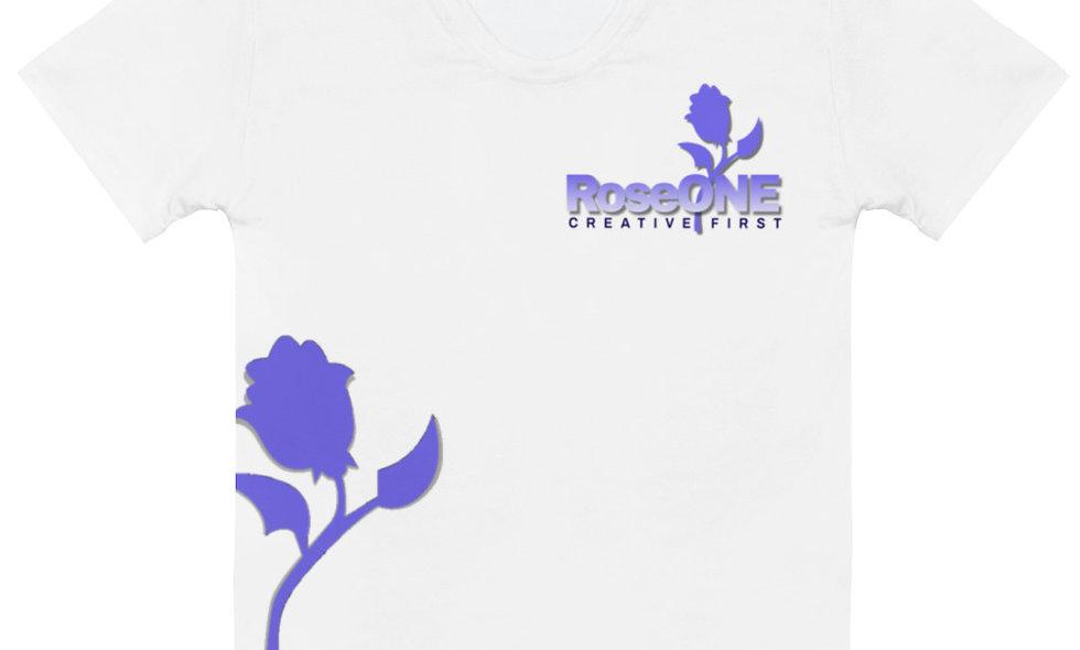 Purple Rose Women's T-shirt