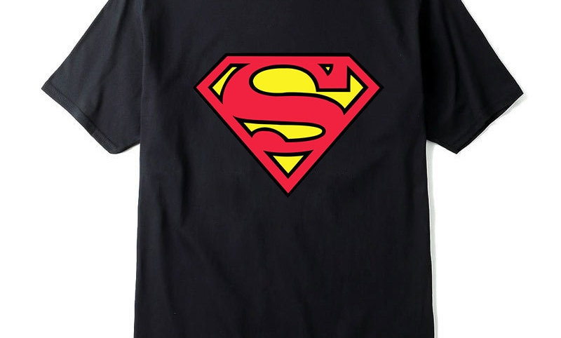 New Fashion High Quality Superman T Shirt Men
