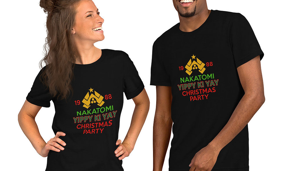 Die Hard Christmas Short-Sleeve Unisex T-Shirt
