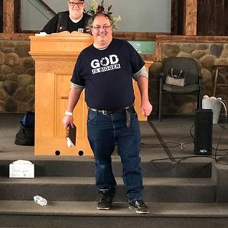 Pastor Brett White