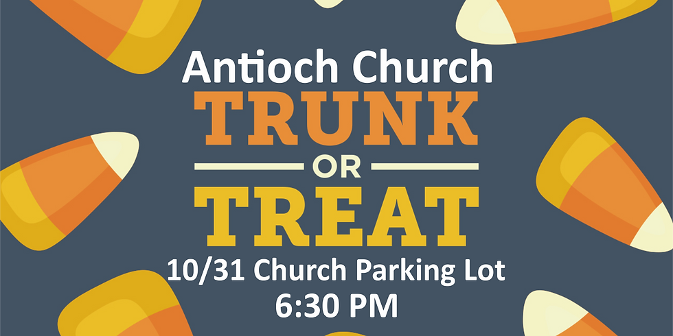 Antioch's Annual Trunk or Treat Event