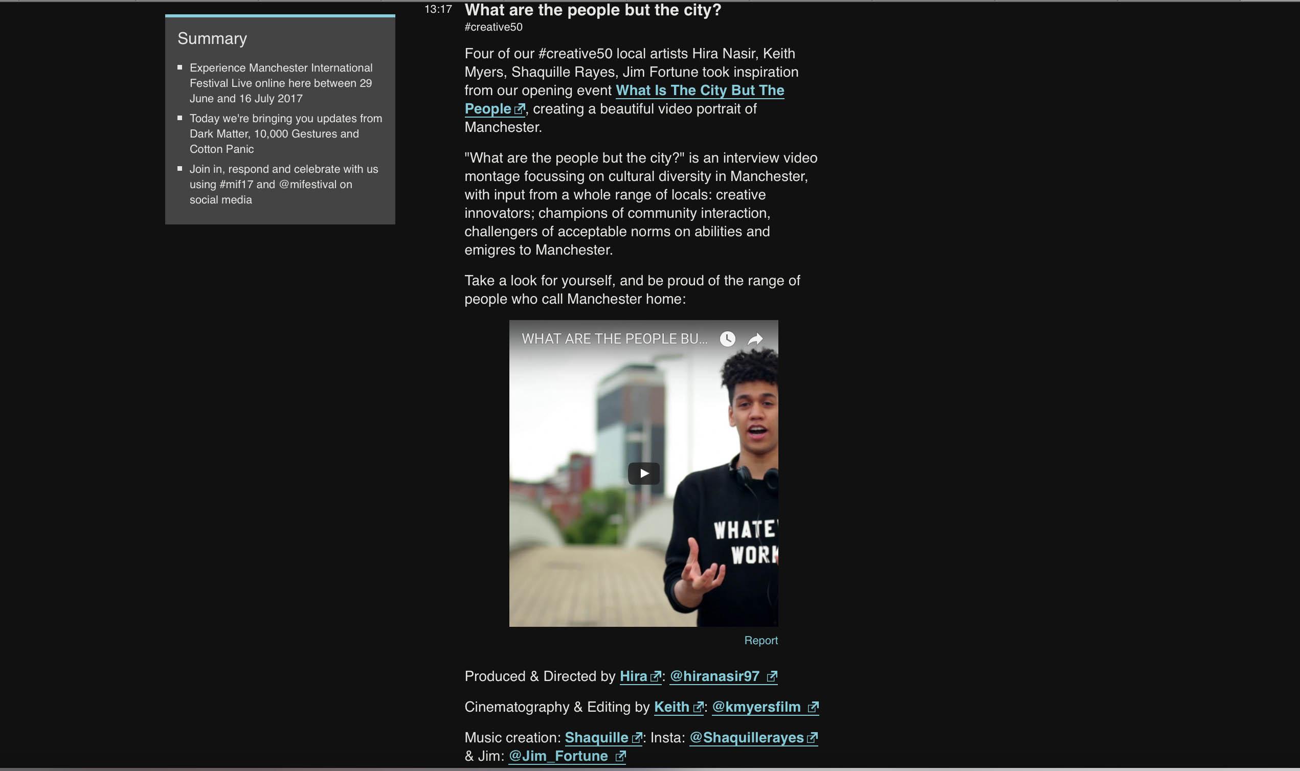 BBC Livepage
