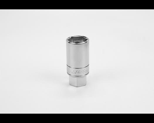 S-K 4424 3/4in 3/8in Dr Fract Spark Chrome Socket