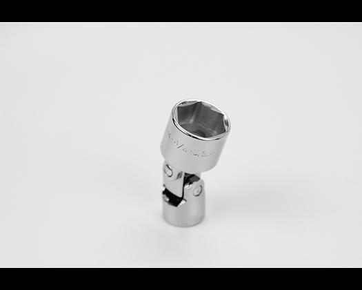 S-K 40624 3/4in 3/8in Dr 6 Point Fract Flex Chrome Socket