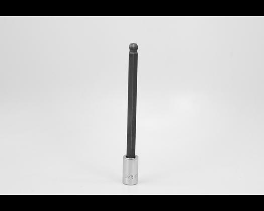 S-K 45942 3/8in 3/8in Dr Long Ball Hex Chrome Bit Socket