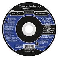 """FlexOvit A0265 Type 27 Cutoff Wheel 4"""" x 3/32"""" x 5/8"""""""