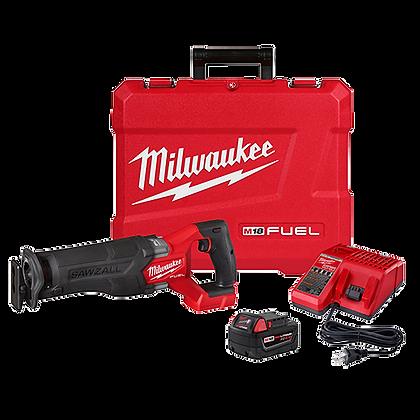 Milwaukee 2821-21 M18 FUEL SAWZALL Recip Saw - 1 Battery XC5.0 Kit