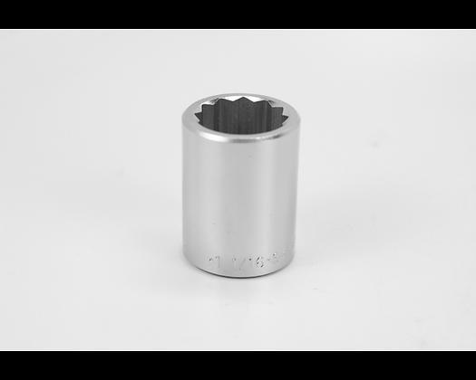 S-K 47134 1-1/16in 3/4in Dr 12 Pt Fract Std Chrome Socket