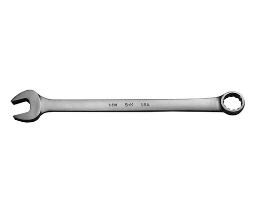 S-K C52 1-5/8in 12 Pt Fract Professional Comb Wrench